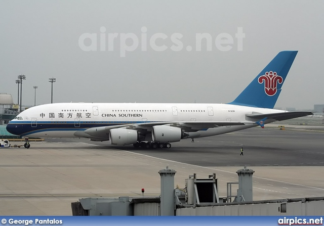 B-6138, Airbus A380-800, China Southern Airlines