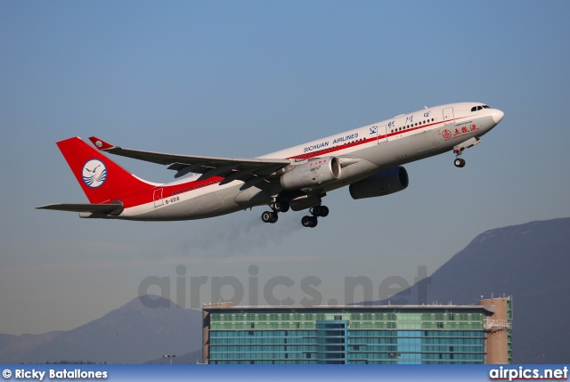 B-6518, Airbus A330-200, Sichuan Airlines