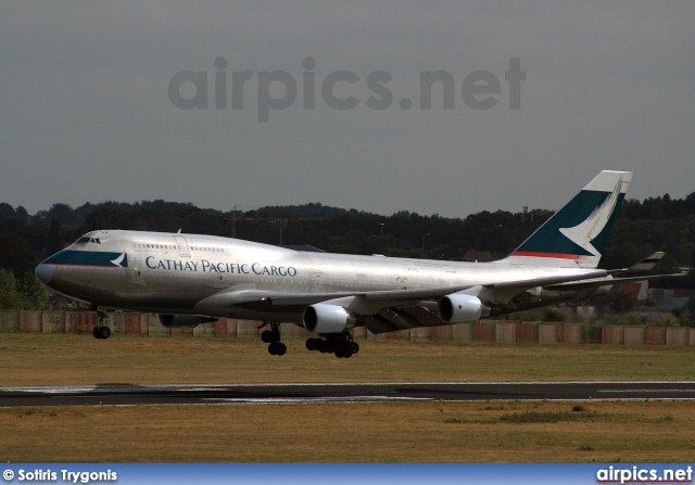 B-HKS, Boeing 747-400(BCF), Cathay Pacific Cargo