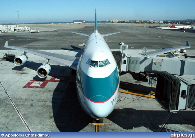 B-HOT, Boeing 747-400, Cathay Pacific