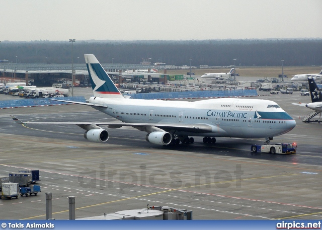 B-HOW, Boeing 747-400, Cathay Pacific