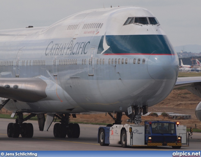 B-HUD, Boeing 747-400, Cathay Pacific