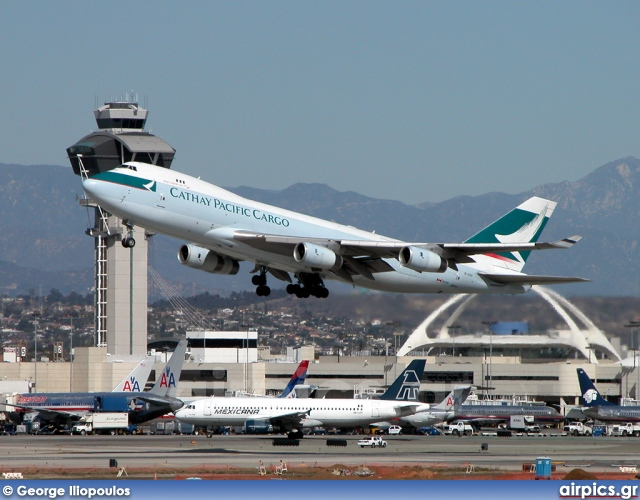B-HUO, Boeing 747-400F(SCD), Cathay Pacific Cargo