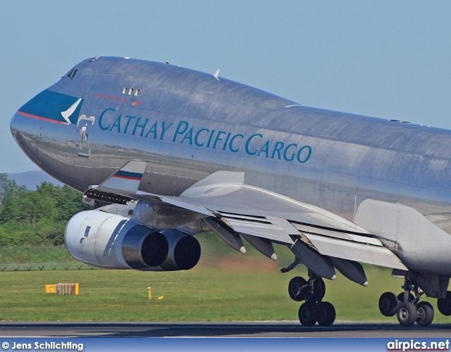 B-HUP, Boeing 747-400F(SCD), Cathay Pacific Cargo