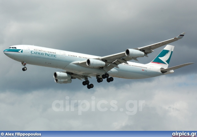 B-HXJ, Airbus A340-300, Cathay Pacific