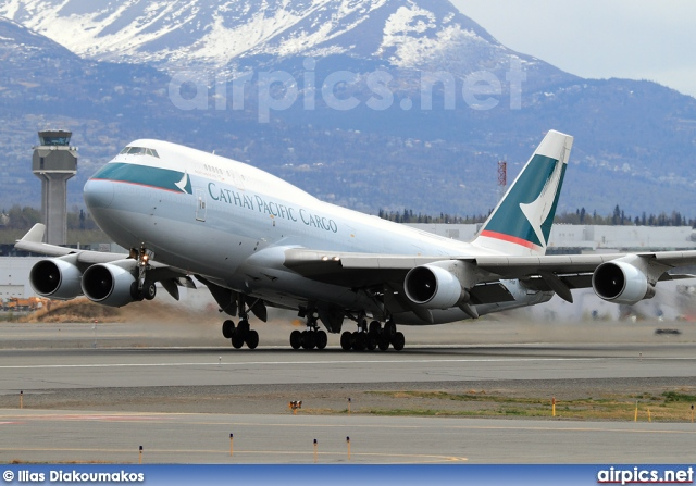 B-KAF, Boeing 747-400(BCF), Cathay Pacific Cargo