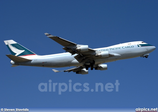 B-LIF, Boeing 747-400ERF(SCD), Cathay Pacific Cargo