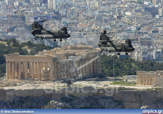 Boeing CH-47D Chinook, Hellenic Army Aviation