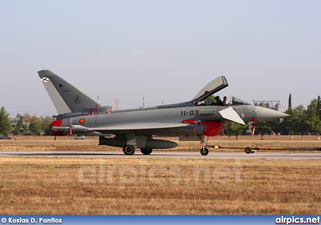 C.16-23, Eurofighter EF2000, Spanish Air Force