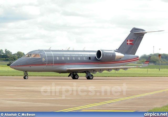 C-172, Bombardier Challenger 600-CL-604, Royal Danish Air Force