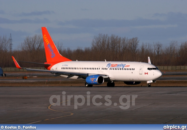 C-FTDW, Boeing 737-800, Sunwing Airlines
