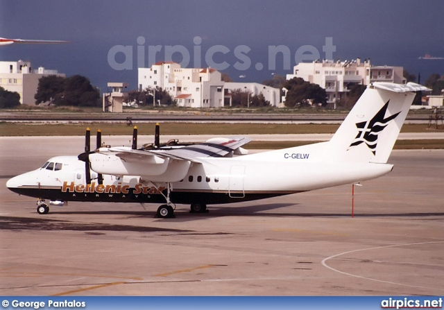 C-GELW, De Havilland Canada DHC-7-102 Dash 7, Hellenic Star Airways