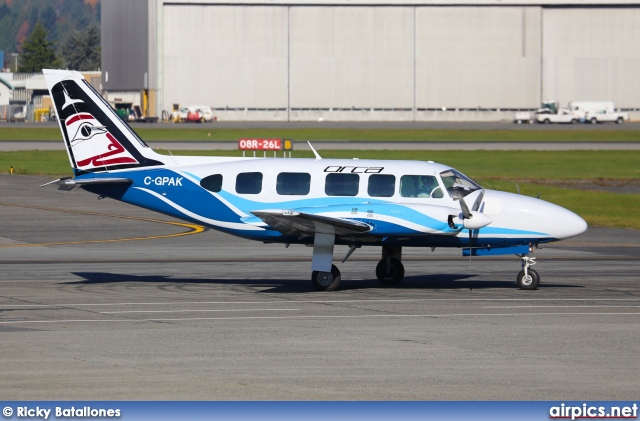 C-GPAK, Piper PA-31-350 Navajo Chieftain, Orca Air