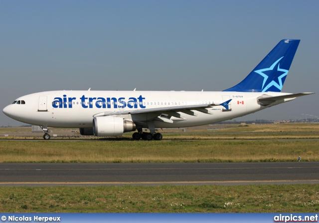 airpics net c gtsw airbus a310 300 air transat medium size