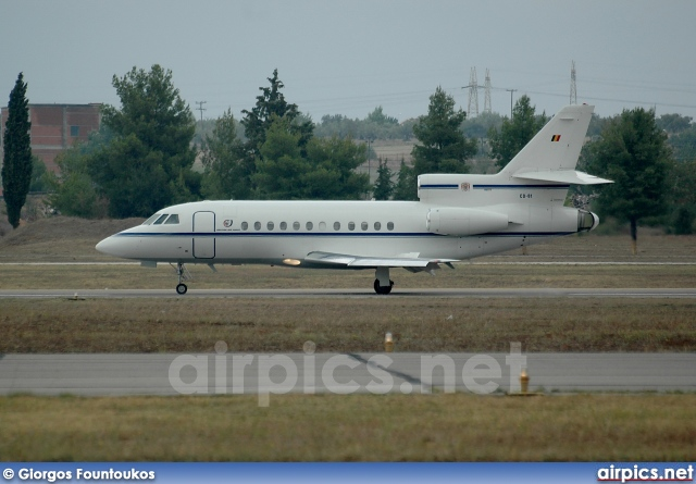 CD-01, Dassault Falcon-900B, Belgian Air Force