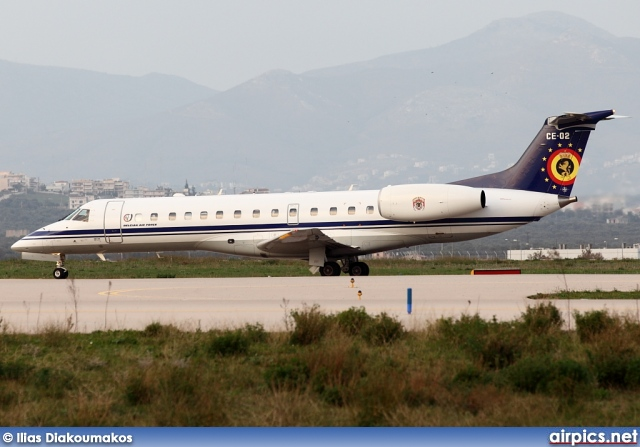 CE-02, Embraer ERJ-135LR, Belgian Air Force