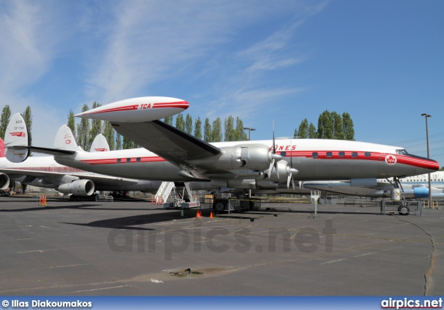 CF-TGE, Lockheed Super Constellation L1049G, Trans-Canada Airlines TCA
