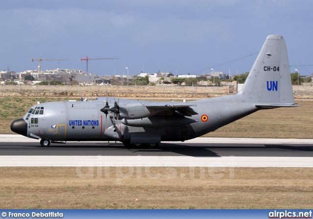 CH-04, Lockheed C-130H Hercules, Belgian Air Force