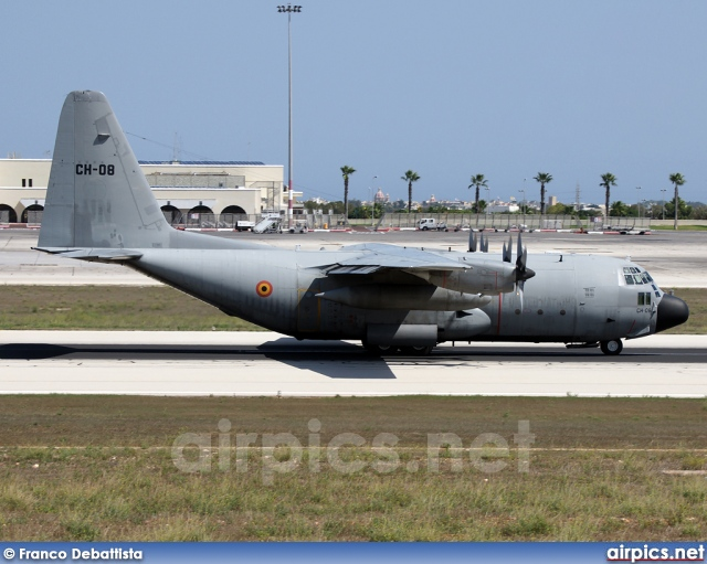 CH-08, Lockheed C-130H Hercules, Belgian Air Force