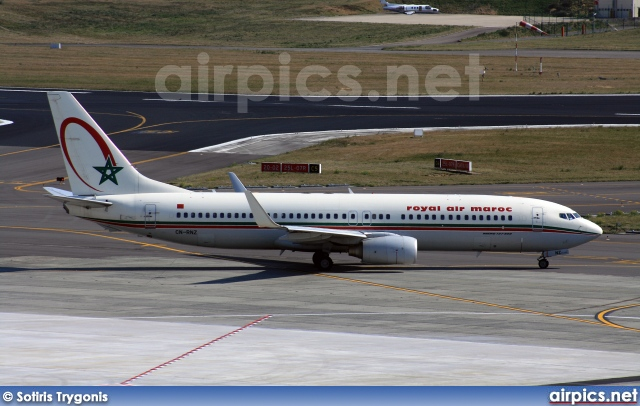 CN-RNZ, Boeing 737-800, Royal Air Maroc