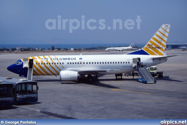 CS-TKE, Boeing 737-300, Air Columbus