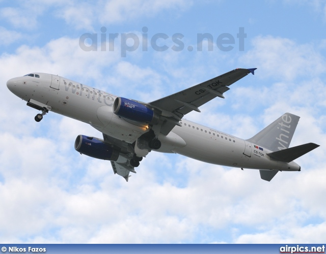 CS-TQK, Airbus A320-200, White Airways