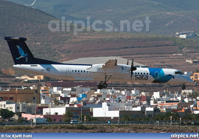 CS-TRG, De Havilland Canada DHC-8-400Q Dash 8, SATA Air Acores