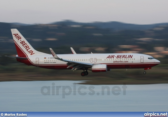 D-ABAQ, Boeing 737-800, Air Berlin