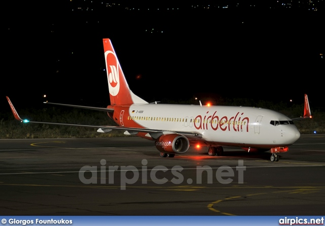D-ABBK, Boeing 737-800, Air Berlin