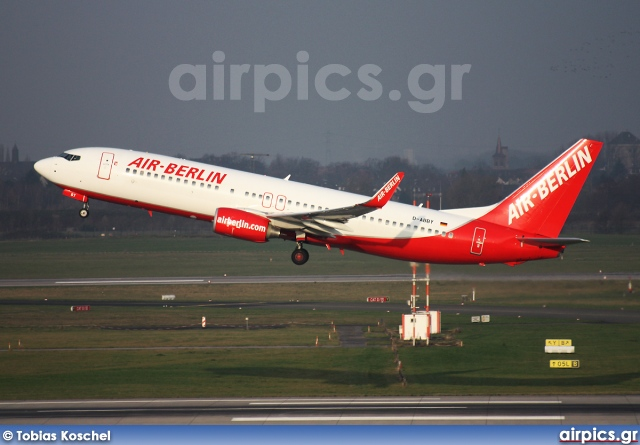 D-ABBY, Boeing 737-800, Air Berlin