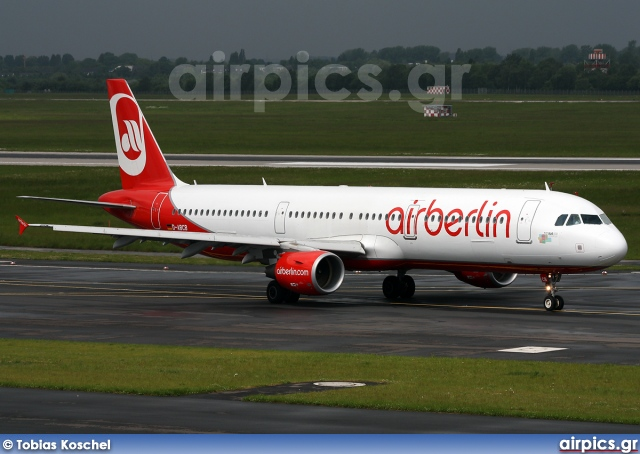 D-ABCB, Airbus A321-200, Air Berlin
