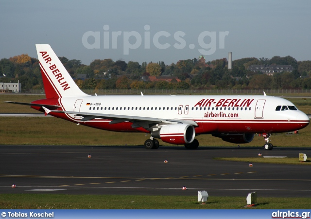 D-ABDD, Airbus A320-200, Air Berlin