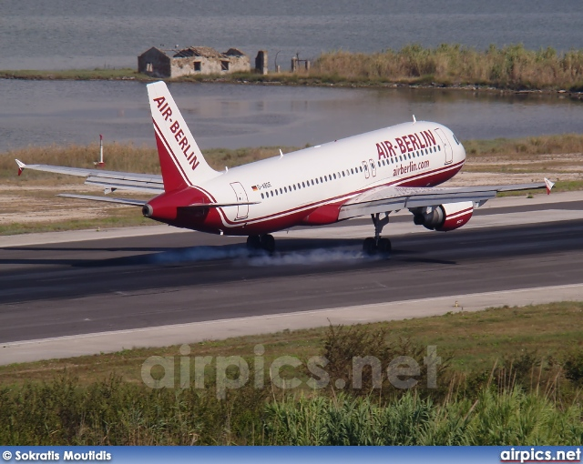 D-ABDE, Airbus A320-200, Air Berlin