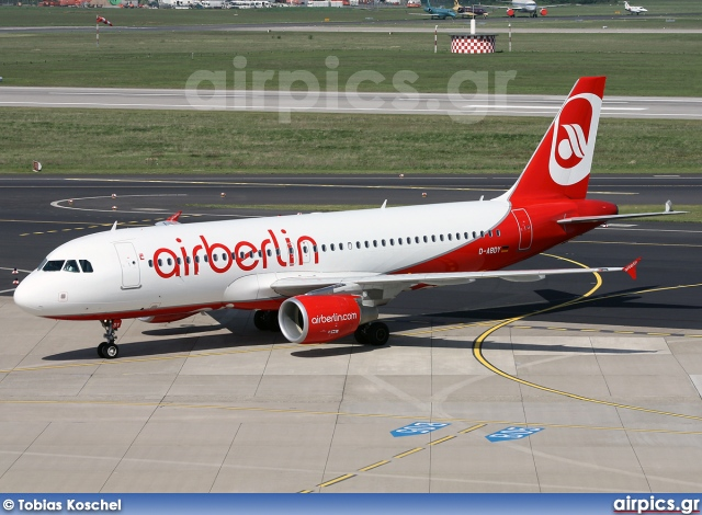 D-ABDY, Airbus A320-200, Air Berlin