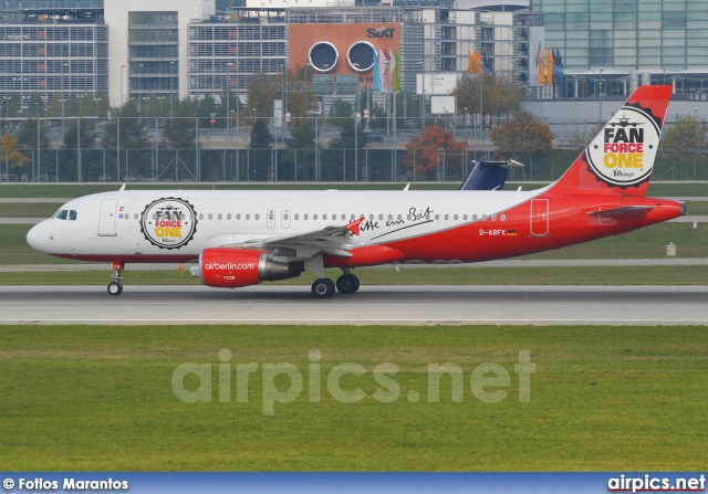 D-ABFK, Airbus A320-200, Air Berlin