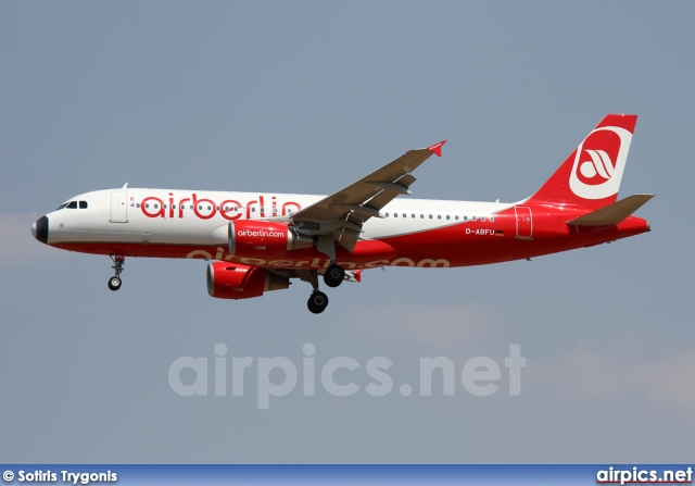 D-ABFU, Airbus A320-200, Air Berlin
