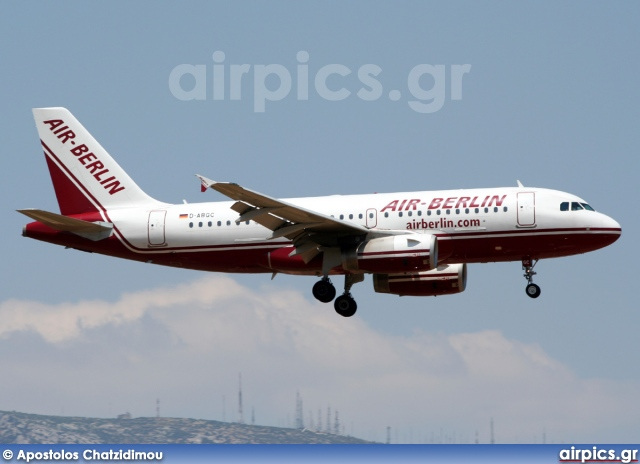 D-ABGC, Airbus A319-100, Air Berlin