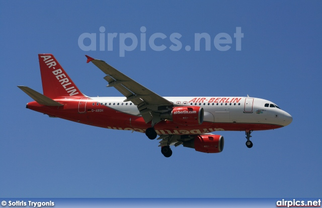 D-ABGH, Airbus A319-100, Air Berlin