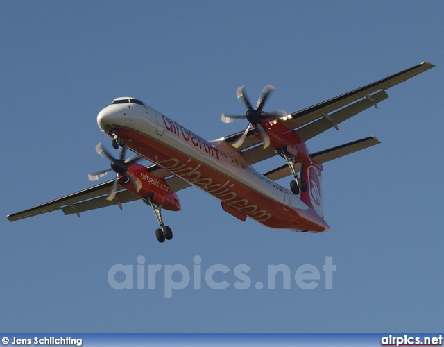 D-ABQB, De Havilland Canada DHC-8-400Q Dash 8, Air Berlin