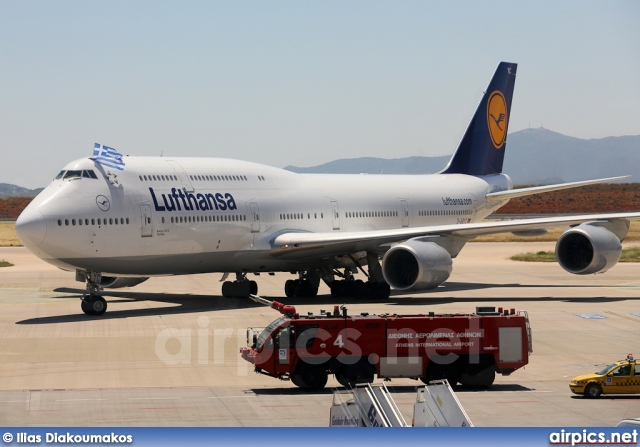 D-ABYC, Boeing 747-8 Intercontinental, Lufthansa