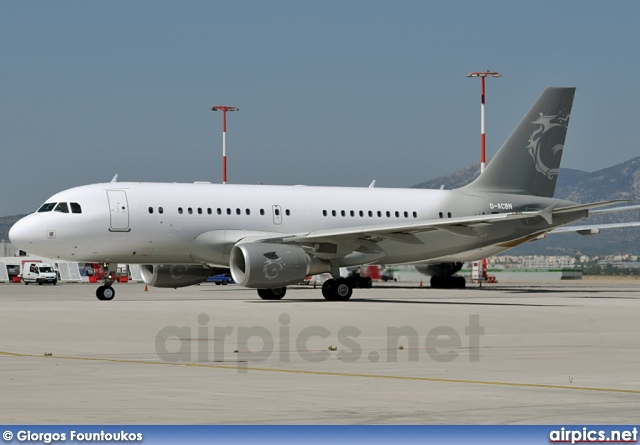 D-ACBN, Airbus A319-100CJ, DC Aviation