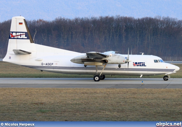 D-ADEP, Fokker F27-600 Friendship, WDL Aviation