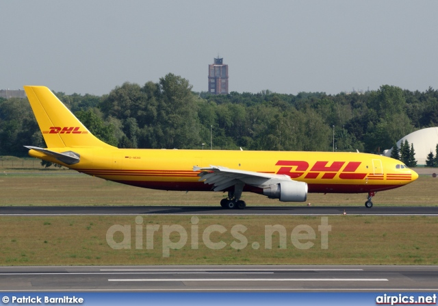 d aeag airbus a300b4 600rf european air transport dhl large size. Black Bedroom Furniture Sets. Home Design Ideas