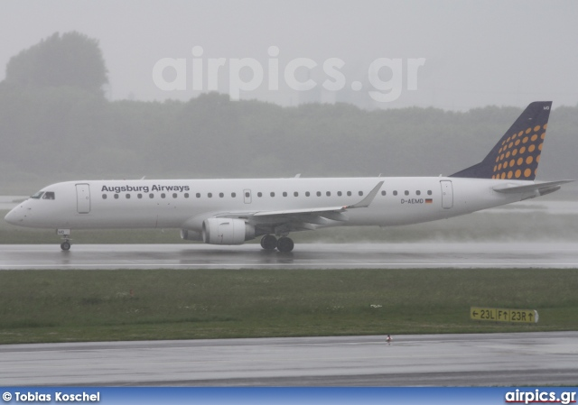 D-AEMD, Embraer ERJ 190-200LR (Embraer 195), Augsburg Airways