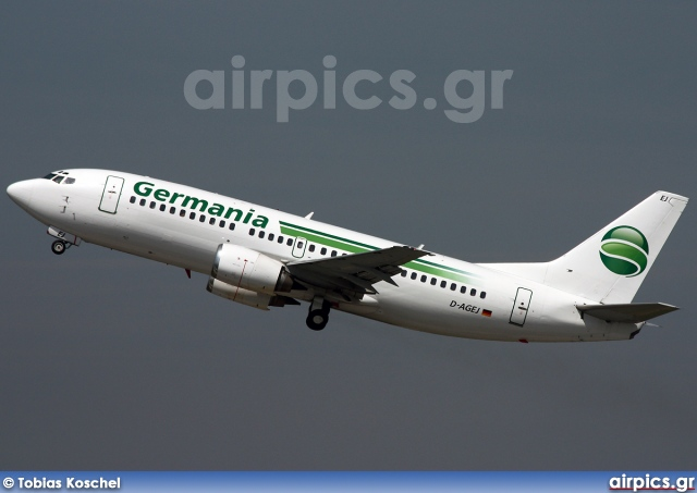 D-AGEJ, Boeing 737-300, Germania