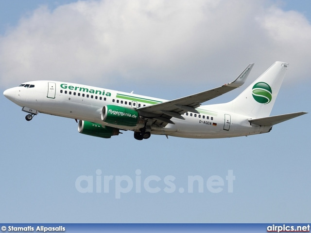 D-AGEN, Boeing 737-700, Germania