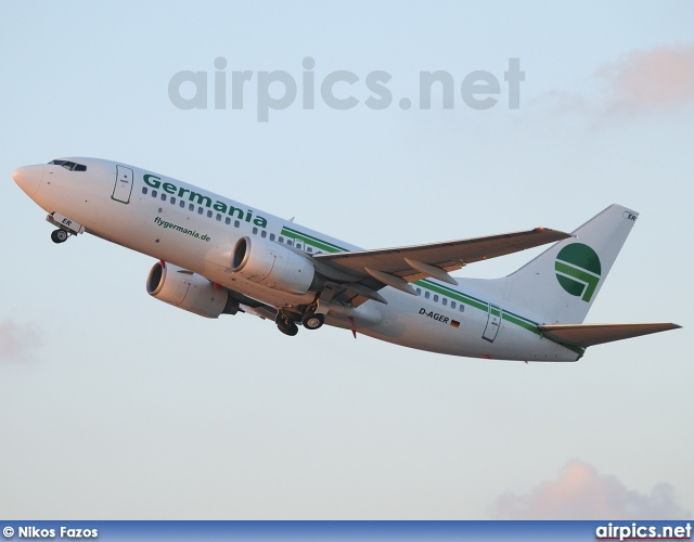 D-AGER, Boeing 737-700, Germania
