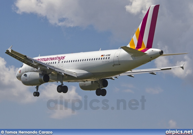 D-AGWE, Airbus A319-100, Germanwings