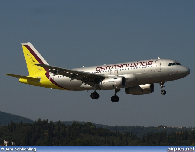 D-AGWI, Airbus A319-100, Germanwings