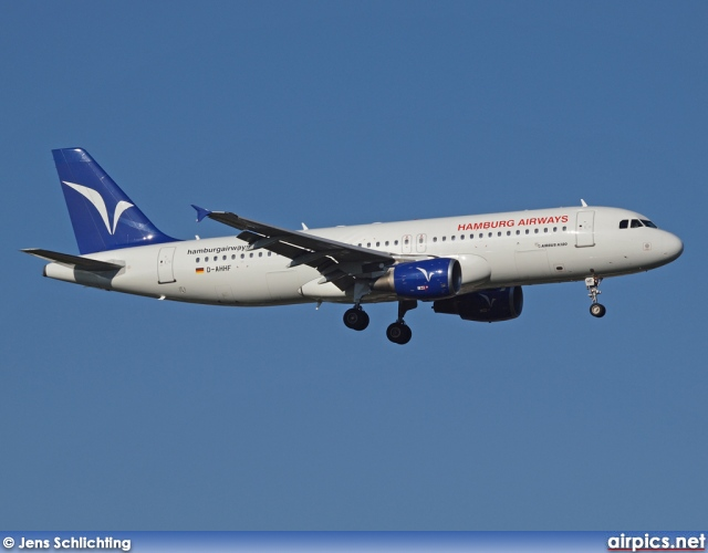 D-AHHF, Airbus A320-200, Hamburg Airways